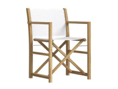Krzesło ogrodowe reżyserskie