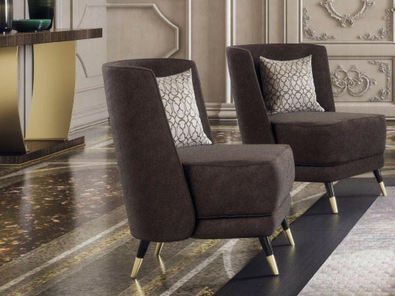 włoski fotel luksusowy Key west Capital Collection