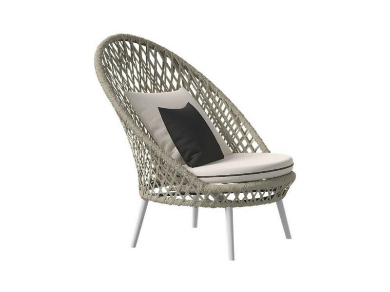 designerski fotel ogrodowy honey atmospheraitaly