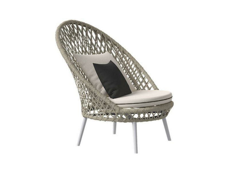 designerskie fotele ogrodowe