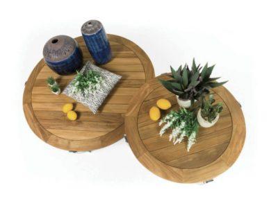 Designerski stolik ogrodowy shell atmospheraitaly