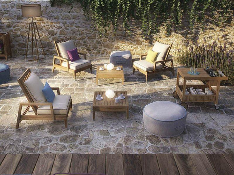 Luksusowy designerski stolik ogrodowy Desert, atmospheraitaly