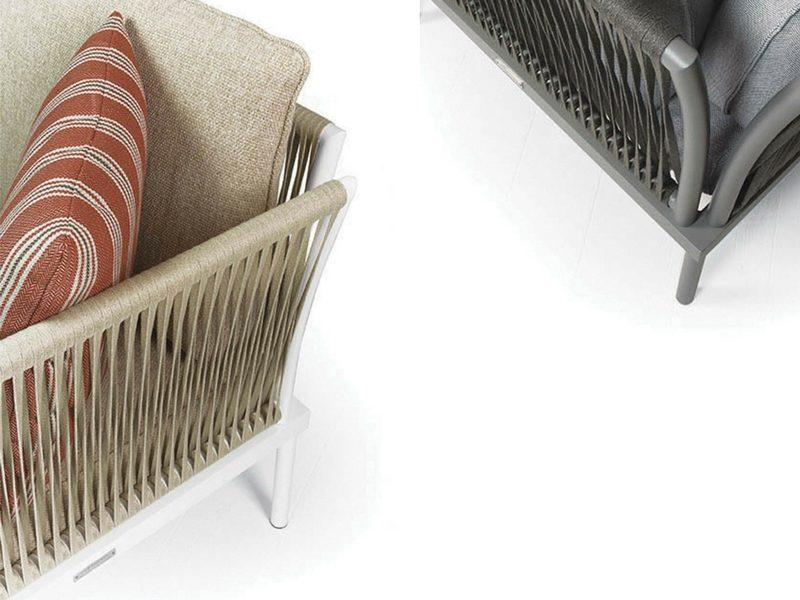 Designerski fotel ogrodowy flash Atmospheraitaly