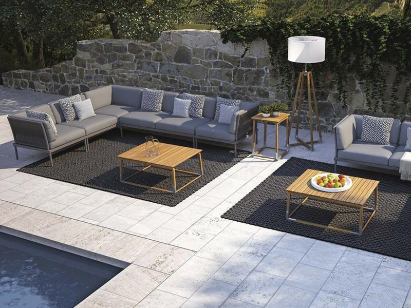 Designerski luksusowy stolik ogrodowy cycle atmospheraitaly