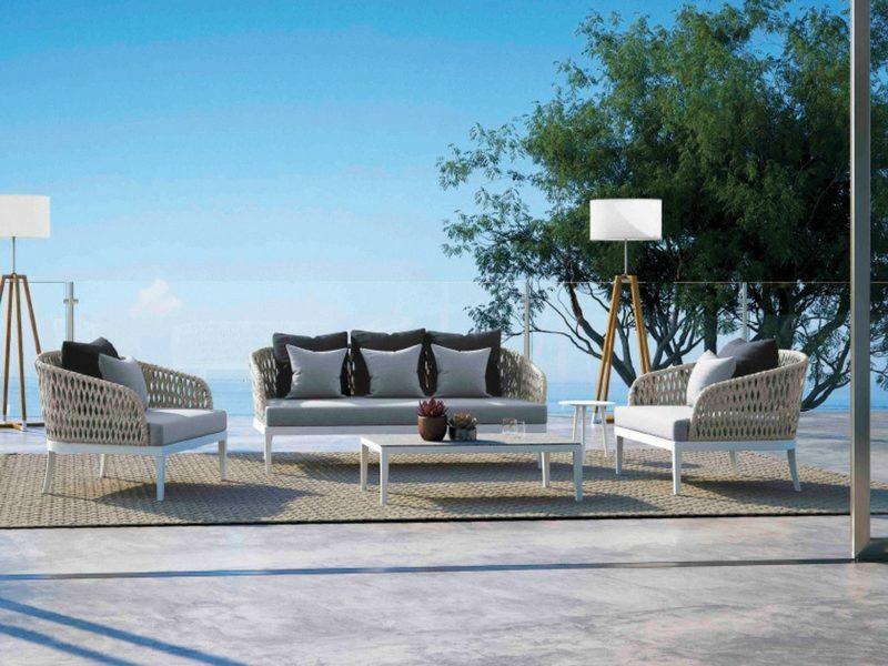 Designerski luksusowy stolik ogrodowy dream atmospheraitaly