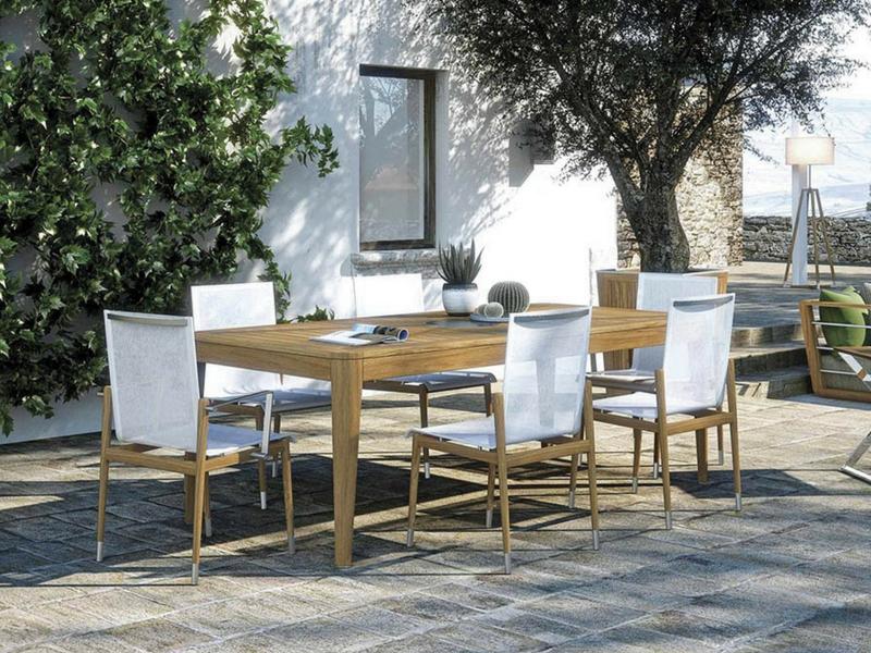 Włoski luksusowy designerski stół ogrodowy Legend Atmosphera Italy
