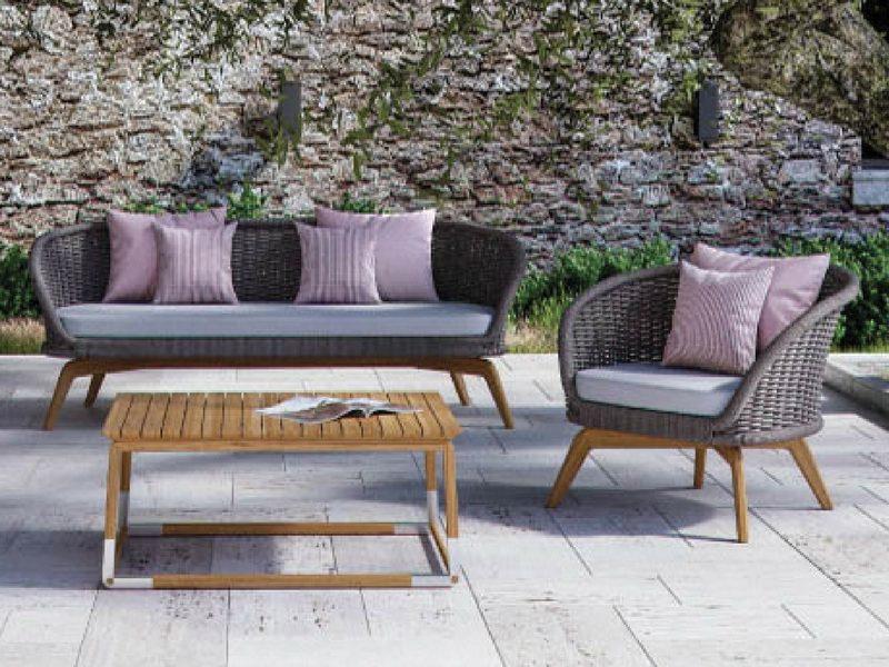luksusowy fotel ogrodowy ludo atmospheraitaly