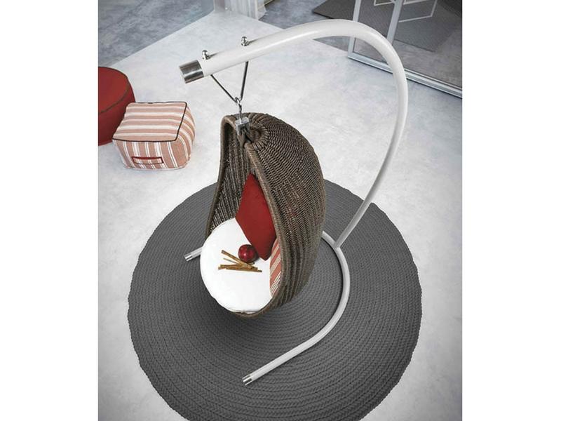 luksusowa huśtawka ogrodowa nest atmospheraitaly