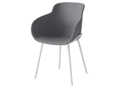 krzesło hug tapicerowane Bolia