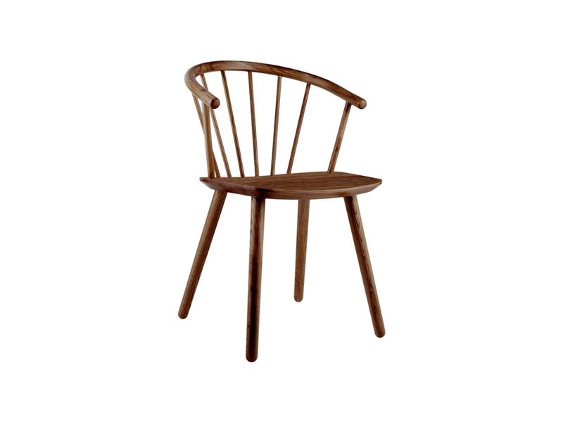Krzesło sleek Bolia dąb dymiony olejowany