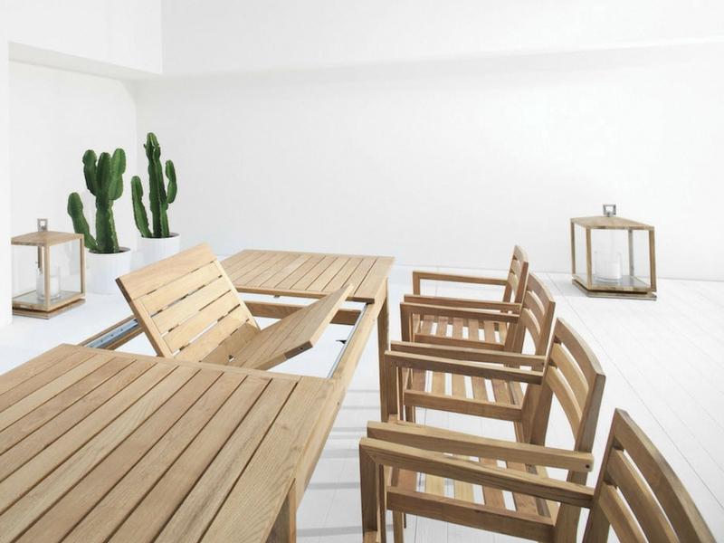 Luksusowy stół ogrodowy desert atmospheraitaly