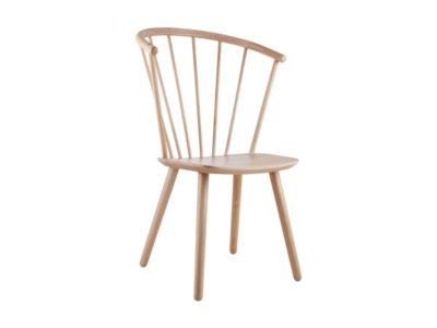 Sleek Hign Bolia krzesło designerskie