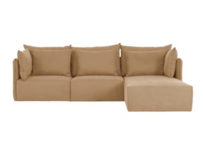 kanapa modułowa z szezlongiem