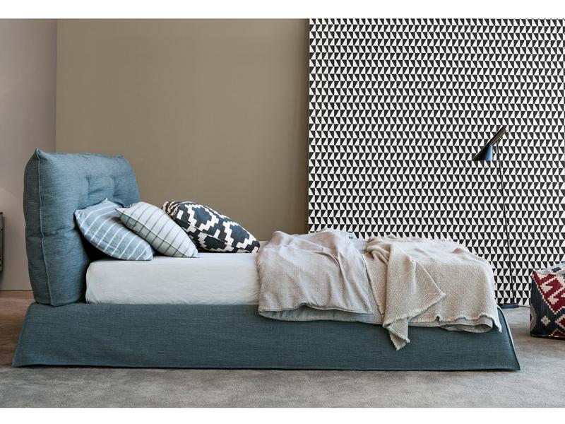 nowoczesne łóżka tapicerowane