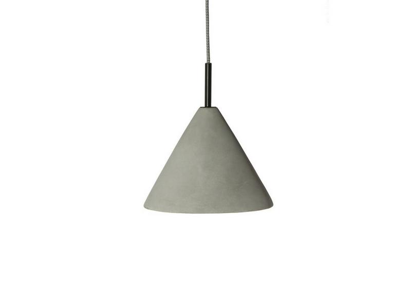 lampa z betonu