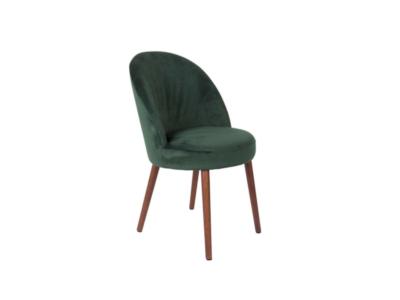 krzesło tapicerowane welurowe (1)
