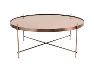 stolik kawowy metalowy niski okrągły (1)