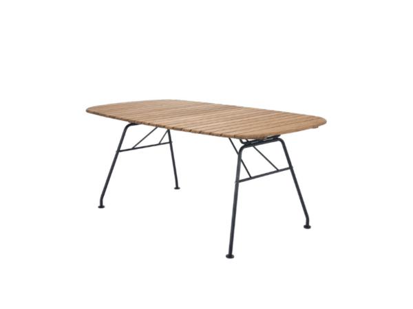 owalny stół ogrodowy Houe Beam