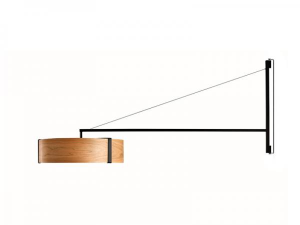 Lampa ścienna Thesis, lzf