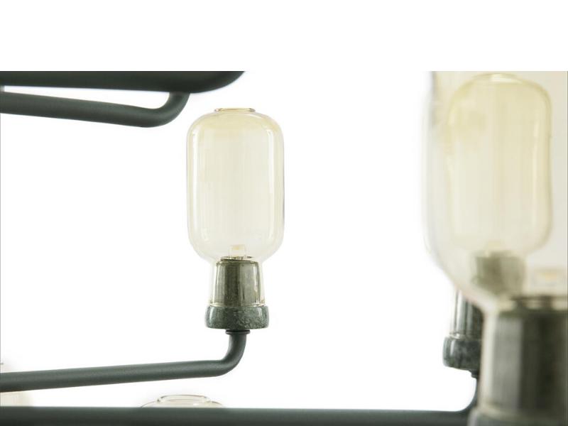Lampa wisząca Amp Chandelier L, Normann Copenhagen